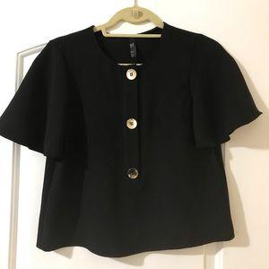 Never worn Zara black blouse